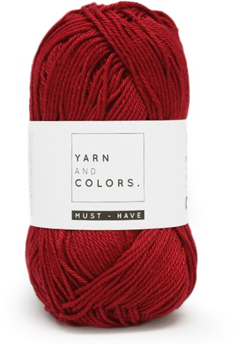 Yarn and Colors Must-have 029 Burgundy