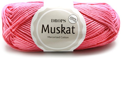 Drops Muskat Uni Colour 29 Old-pink