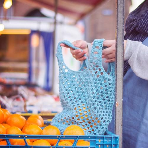 Crochet Pattern Essentials Cotton Shopper