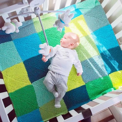 Knitting Pattern Crib Blanket