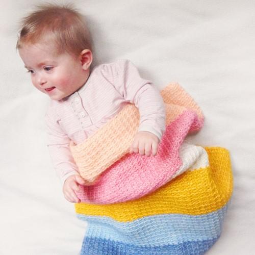 Charming Baby Blanket Crochet Kit