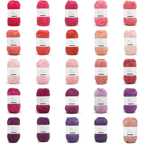 Yarn and Colors Must-Have 25 Colors Yarn Pack 3 Amethyst