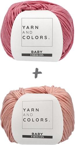 Baby Blanket Fabulous Gradient Crochet Kit 3 Pink
