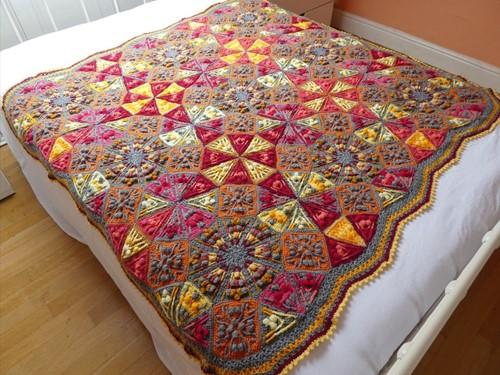 Kaleidoscope Blanket CAL Yarn Kit 3 Tequila Sunrise