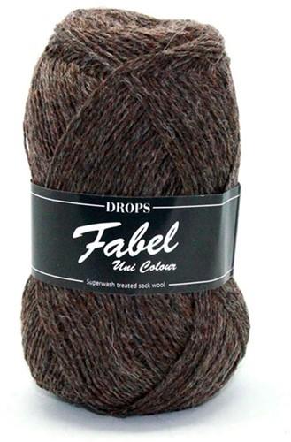 Drops Fabel Uni Colour 300 Brown