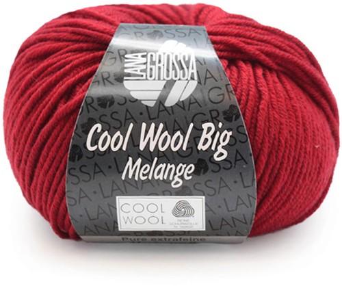 Lana Grossa Cool Wool Big Melange 302 Red Mottled