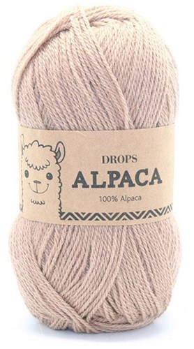 Drops Alpaca Uni Colour 302 Camel Beige