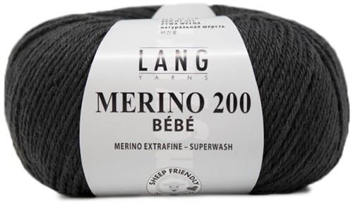Lang Yarns Merino 200 Bebe 305 Grey