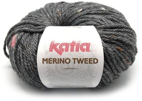 Katia Merino Tweed 308 Dark grey