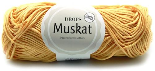 Drops Muskat Uni Colour 30 Vanilla-yellow