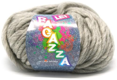 Lana Grossa Ragazza Lei Uni 31 Light Gray Mottled