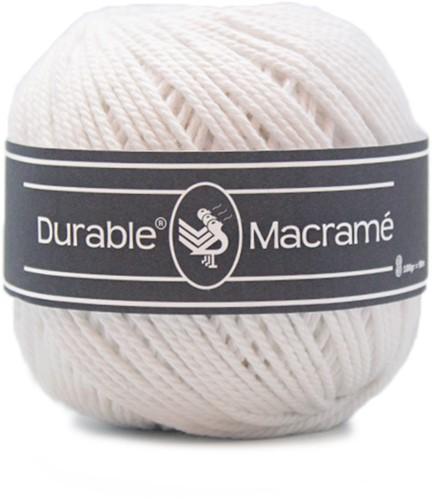 Durable Macramé 310 White