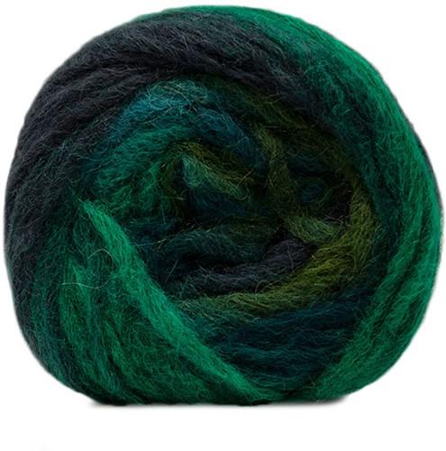 Katia Atmosfera 311 Green / Dark blue / Turquoise