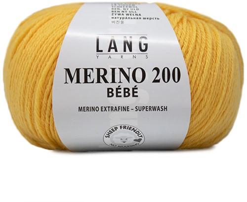 Lang Yarns Merino 200 Bebe 313 Citron