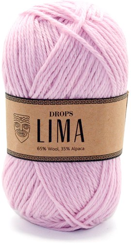 Drops Lima Uni Colour 3145 Powder pink
