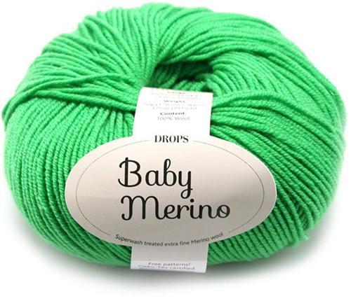 Drops Baby Merino Uni Colour 31 Vibrant Green