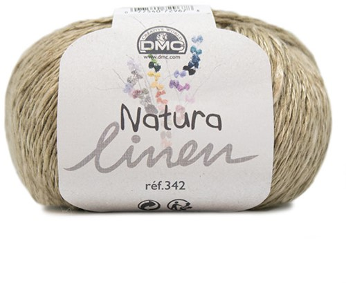 DMC Natura Linen 031 Light Brown