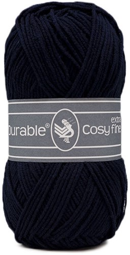 Durable Cosy Extra Fine 321 Navy