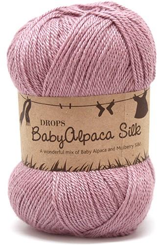 Drops BabyAlpaca Silk Uni Colour 3250 Light-old-pink
