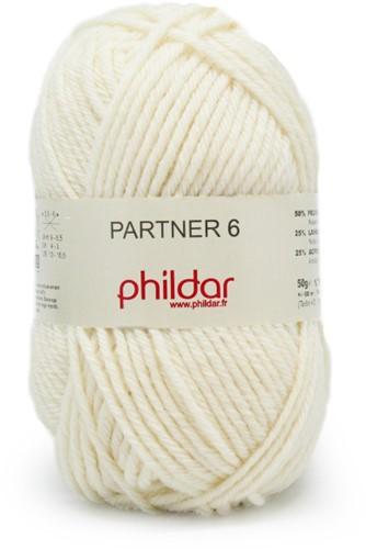 Phildar Partner 6 1359 Ecru
