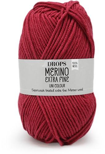 Drops Merino Extra Fine Uni Colour 32 Dark Rose