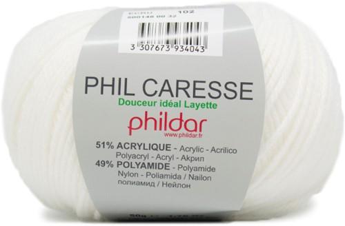 Phildar Phil Caresse 1359 Ecru
