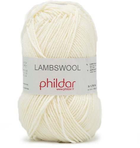 Phildar Lambswool 1359 Ecru