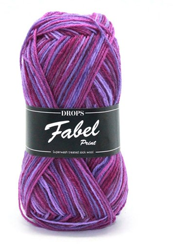 Drops Fabel Print 330 Berry Dreams