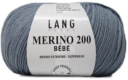 Lang Yarns Merino 200 Bebe 333 Light Jeans