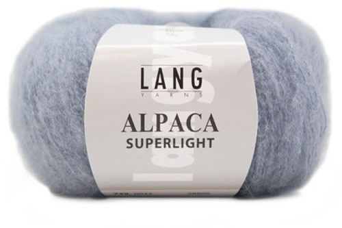 Lang Yarns Alpaca Superlight 33 Light Jeans