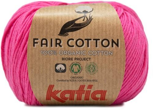 Katia Fair Cotton 33 Bubble Gum