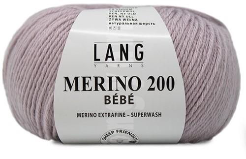 Lang Yarns Merino 200 Bebe 346 Light Purple