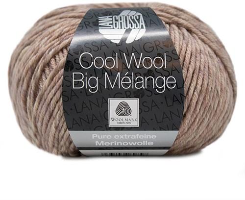 Lana Grossa Cool Wool Big Melange 355 Rosewood
