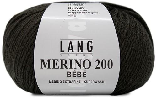 Lang Yarns Merino 200 Bebe 367 Choco
