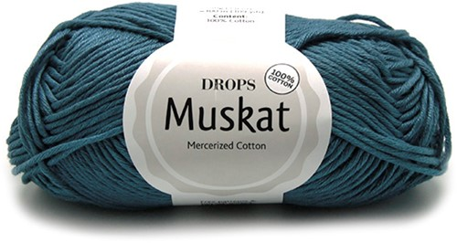 Drops Muskat Uni Colour 36 Denim-blue