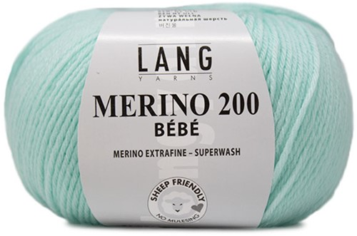 Lang Yarns Merino 200 Bebe 374 Reseda