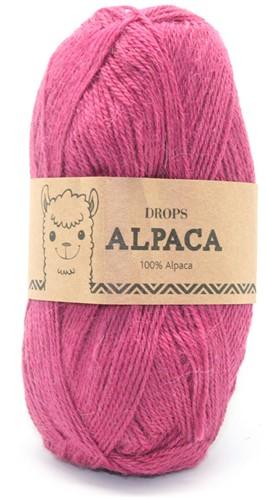 Drops Alpaca Uni Colour 3770 Dark Pink