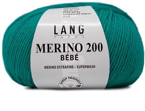 Lang Yarns Merino 200 Bebe 378 Aqua