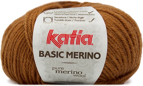 Katia Basic Merino 37 Light brown