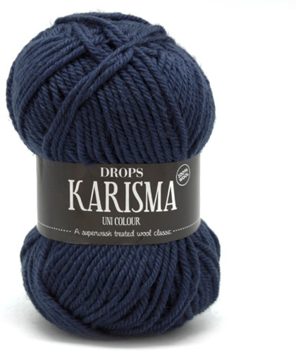 Drops Karisma Uni Colour 37 Dark-grey-blue