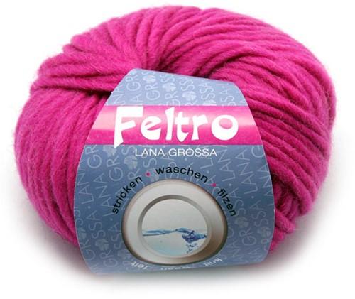 Lana Grossa Feltro 38 Bright Pink