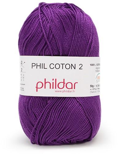 Phildar Phil Coton 2 1349 Violet