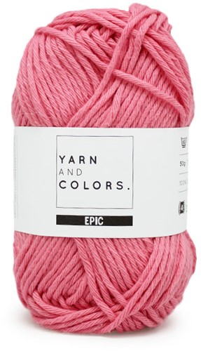 Yarn and Colors Epic 038 Peony Pink
