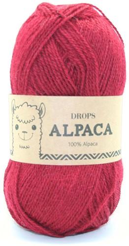 Drops Alpaca Uni Colour 3900 Tomato