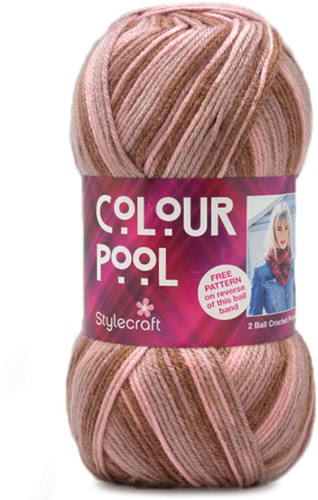 Stylecraft Colour Pool 3909 Strawberry Moon