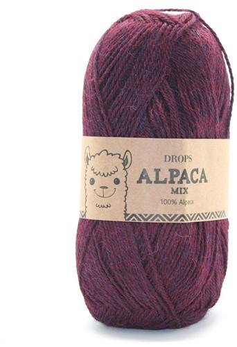 Drops Alpaca Mix 3969 Red/Purple