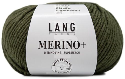 Lang Yarns Merino+ 397 Olive