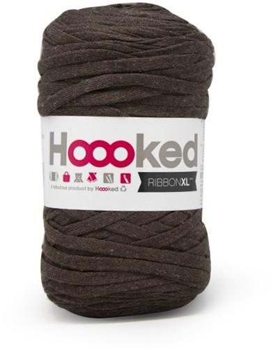 Hoooked RibbonXL 39 Tabacco Brown