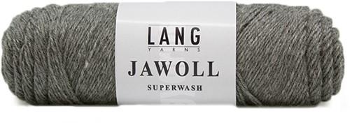 Lang Yarns Jawoll Superwash 3 Dark Grey Mélange