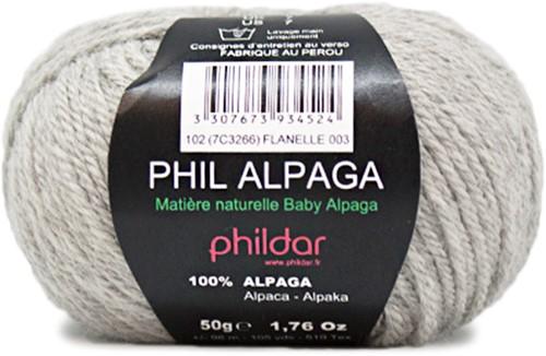 Phildar Phil Alpaga 3 Flanelle